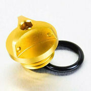 Pro Bolt Gold Alu Oil Filler Cap M20 X 2.50mm Ducati Hyperstrada 939 Abs 2016