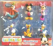 Mickey Mouse Clubhouse Playset Penney Disney Bundle 6 Figurine Pluto Donald