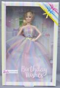 Barbie Anniversary Birthday Wishes Bow In Sky 2019 Mattel Ght42 Doll Nrfb
