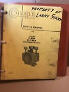Onan Cck And Ccka Industrial Engines Service Manual And Parts 927-0753
