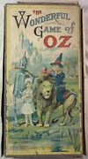 1921 Parker Brothers Antique Board Game The Wonderful Game Of Oz / Wizard Of Oz