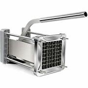 French Fry Cutter Sopito Professional Potato Cutter Stainless Steel With 1/2inc