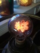 Vintage Aerolux Flower Filament Light Bulb1950and039s Good Working Condition