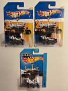 Hot Wheels Lot Of 3 Mars Rover Curiosity 2012 And 2014 Vhtf Extremely Collectible