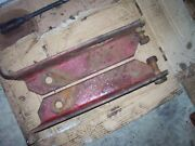 Vintage Mccormick Farmall M Tractor - Draw Bar Vertical Supports 1951