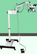 Dental Surgical Microscope/motorized With Floor Stand Healthcare Lab And Dental