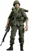 Platoon Movie Charlie Sheen As Chris Taylor 12' Figure By Hot Toys