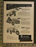 1954pedal Car Space Jet Inland Tricycle Wagon Trailer Tractor Buffalo Toy Adtm41