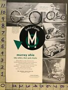 1952 Pedal Car Station Wagon Bicycle Tractor Murray Ohio Cleveland Toy Ad Tm48