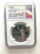 2019 W Eagle Platinum 100 Liberty First Day Of Issue pf 70 Ultra Cameo Ngc