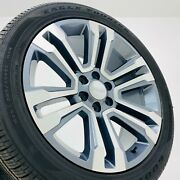 Gmc Yukon Denali Sierra 22 Wheels Rims Goodyear Tires 2015 2014 2013 2012 2011