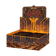 Crucible Of War Flesh And Blood English Booster Box 1st Alpha Edition - Sealed