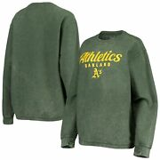 Oakland Athletics G-iii 4her By Carl Banks Womenand039s Comfy Cord Pullover