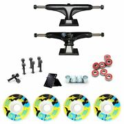 52mm30mm Skateboard Wheels 5and039and039 Truck Bearings Hard Wares Rubber Gasket Riserpad