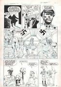 Flare First Edition 6 P.4 - Champions - Nazi Lab - 1993 Art By Keith Tucker