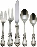 Reed And Barton Sterling Burgundy 5 Pc. Place Set G3824