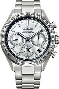New Citizen Atessa Act Line Eco-drive Gps Cc4010-80a Menandrsquos Watch From Japan