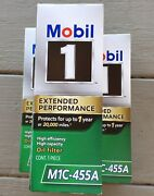 3 Mobil 1 M1c-455a Oil Filters Car Automobile High Efficiency Capacity