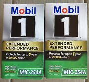 2 Mobil 1 M1c-254a Oil Filters Car Automobile High Efficiency Capacity