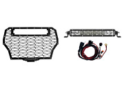 Rigid Rigid Grill Lght Kit Pol Turbo W/ 10 Sr Light Rigid Industries Led Light