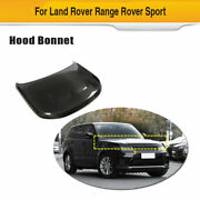 Fits Land Rover Range Rover Sport 2018-20 Engine Hood Cover Replace Carbon Fiber