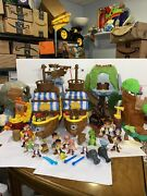 Lot Jake And The Neverland Pirates Ships Playsets Figures Lots Of Fun For Anyone