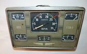 Instrument Panel From A 1947 Republic Seabee Tach Fuel Amp Oil Oil Press.