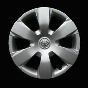 Hubcap For Toyota Camry 2007-2011 - Genuine Oem Factory Wheel Cover Silver 61137