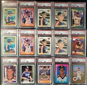 1988 And 1989 Craig Biggio Psa 10 Rc 15 Card Lot Includes And Glossy