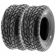 Pair Of 2 25x11-10 25x11x10 Quad Atv 6 Ply Tires A021 By Sunf