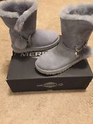 Gray Uggs Size 6 With Charms