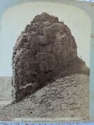 Stereoview Dome Of Citidel Yellowstone F Jay Haynes Stereograph