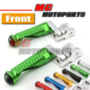 360 Adjustable Riser Front Foot Pegs For Ducati 848 /r/evo 08-11 12 13