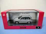 Aoshima Dism 143 Toyota Starlet Turbo S Ep71 Early Model Silver Diecast X1