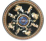 32 Marble Top Coffee Table Mosaic Birds And Angels Inlay Art Cafeteria Decor B231