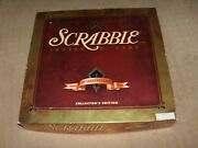 Scrabble Crossword Game 50th Golden Anniversary Collectors Edition 1998 Mb