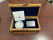 2005 50 5 Oz Silver Proof Fijiand039s Coral Reef In Treasure Chest