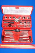 New And Factory Sealed Snap-on Tools 41 Piece Metric Tap And Die Set Tdm117a