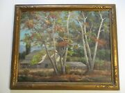 Howard Irwin Oil Painting Early California Impressionist Home Landscape Antique