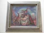 Andre Boratko Wpa Painting Surrealism Modernist Abstract Expressionism Chicago