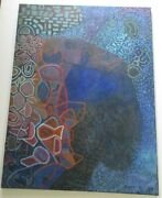 Philip North Painting Abstract Large Cubist Cubism Modernism Expressionism