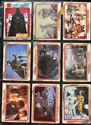 Star Wars 1980 Series 1 And Series 2 Topps Collectable Trading Cards Mnt 10-9-8