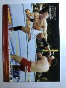 George's St Pierre Topps Ufc Round 1 Debut Rookie Gold Thick Rc Ssp