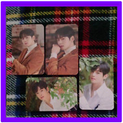 Astro Cha Eunwoo Rare Solo Pop-up Complete Official Photo Card 4 Set Photocard