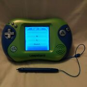 Leapfrog Leapster 2 Learning System Green Blue - Comes W/ 19 Games