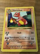 Rare Charmeleon Pokandeacutemon Card Mint Condition Not Played With 24/102