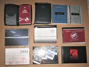 Lot Of 27 Assorted Automotive Owner's Manuals - Chevy-ford- Saturn-honda-dodge