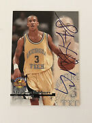 1996 Score Board Authentic - Stephon Marbury - Signed - Rookie - Timberwolves