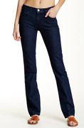 Current/elliott Women's Blue The Stove Pipe Jeans 88264 Size 29