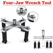 Gm Car Fuel Pump Cap Multi-function Disassembly Wrench Four-jaw Wrench Tool